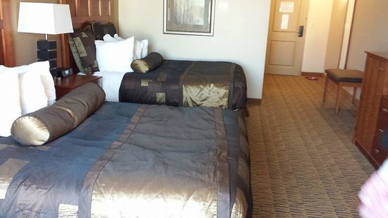 BEST WESTERN PLUS Bloomington Hotel : Comfy beds