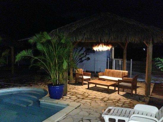 Les Reves d'Or : salon piscine