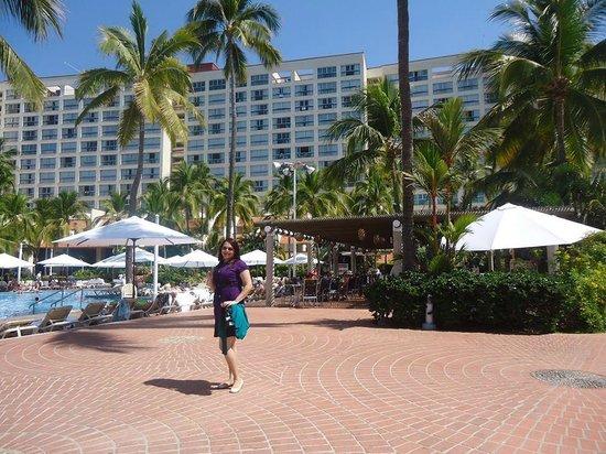 Sheraton Buganvilias Resort & Convention Center : vista alas habitaciones