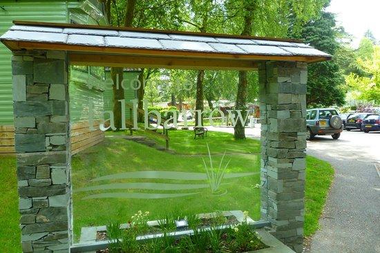 Fallbarrow Park: Entrance