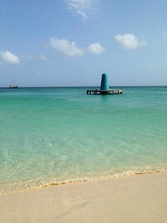 Hotel Riu Palace Aruba: nice area to sunbathe