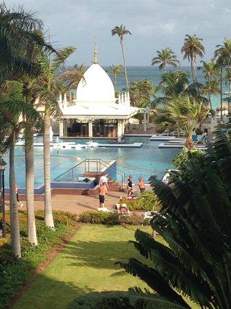 Hotel Riu Palace Aruba: view from reception