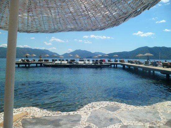 Labranda Mares Marmaris: Down at the beach