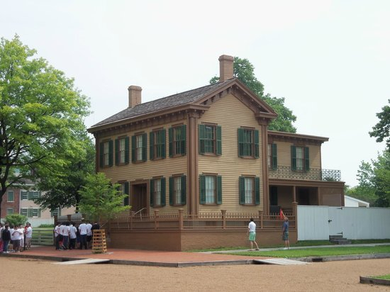 Lincoln Home National Historic Site: The house