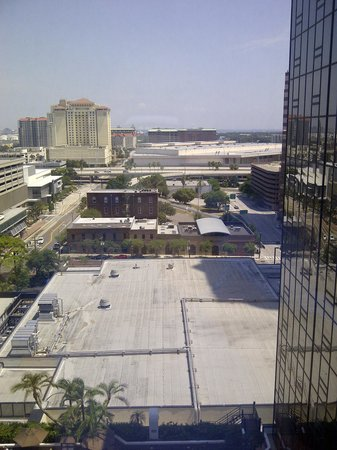 Hilton Tampa Downtown: View from our room, 14th floor