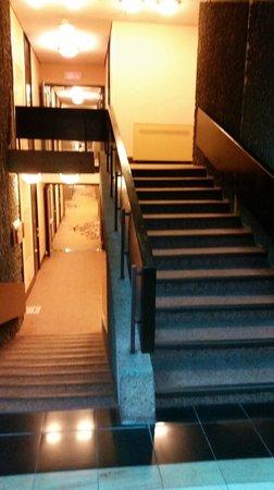 Hotel Bonaventure Montreal : Stairs, stairs, stairs....