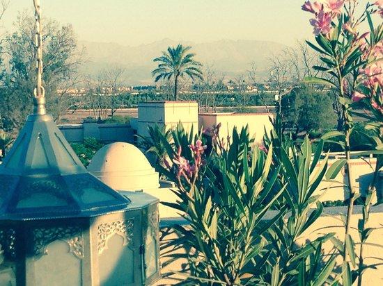Four Seasons Resort Marrakech : view from the zest bar