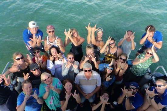 Ningaloo Reef Dreaming: Our Tour Group! Ningaloo Dreaming :)
