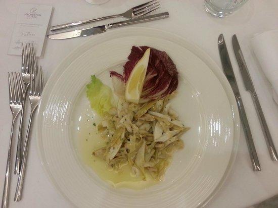 Mec Paestum Hotel : cena antipasto
