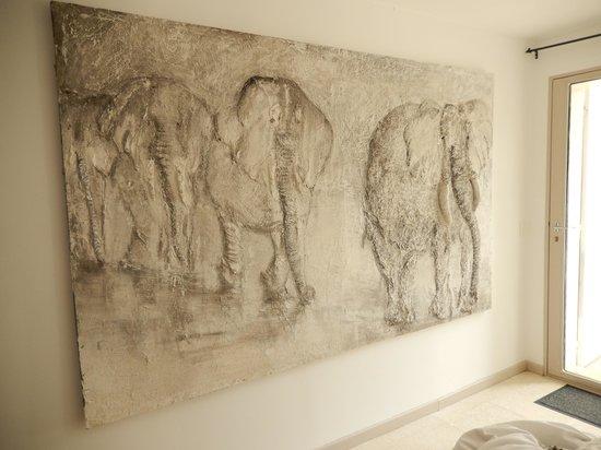 L'Elephant de Vaugines: Une chambre