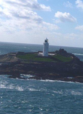 Godrevy Head : Godrevy lighthouse