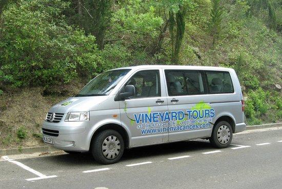 Vin en Vacances - Day Tours: The van