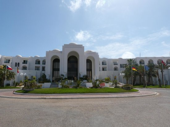 Vincci Helios Beach : Entrée de l'hôtel