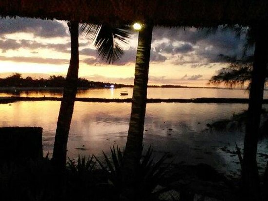Ambre Resort & Spa : Sunset from the Spa