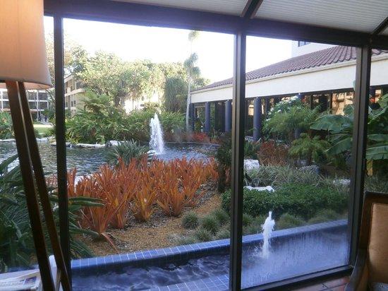 Shula's Hotel & Golf Club : Vista desde el Lobby