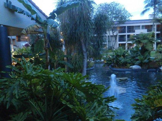 Shula's Hotel & Golf Club : Vista desde el salón de Eventos y Lobby