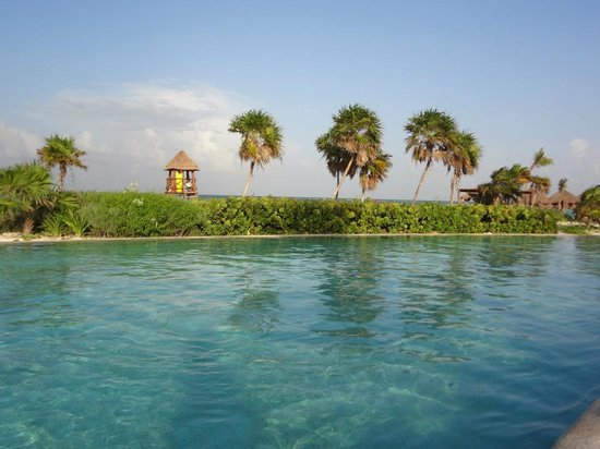 Secrets Maroma Beach Riviera Cancun: view from the pool
