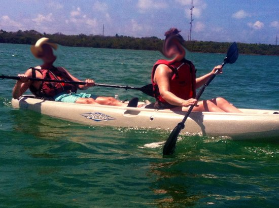 Lime Tree Bay Resort: Free Kayaking! The best kind...
