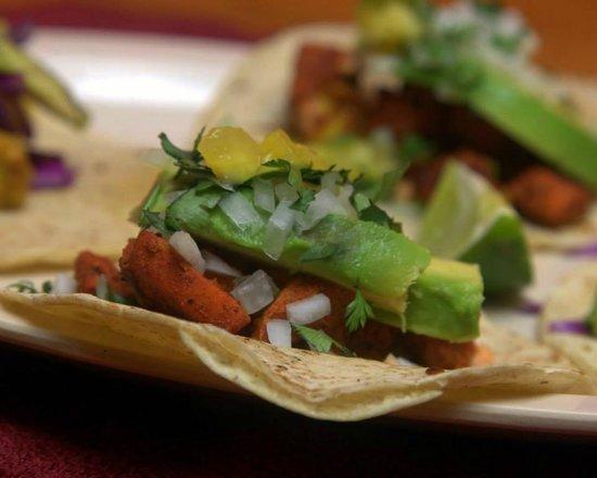 Cactus: Pastor fish tacos