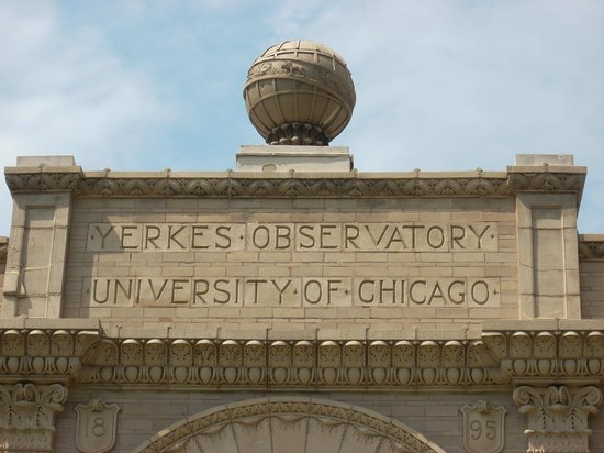 Yerkes Observatory : detail of building