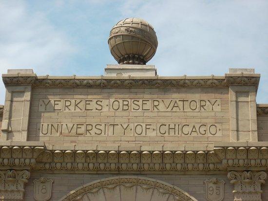 Yerkes Observatory: detail of building