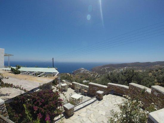 Windmill Bella Vista: vue sur la mer