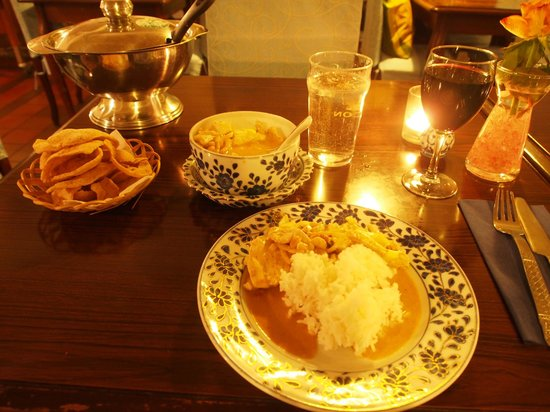 Restaurang Sukhothai: my dinner