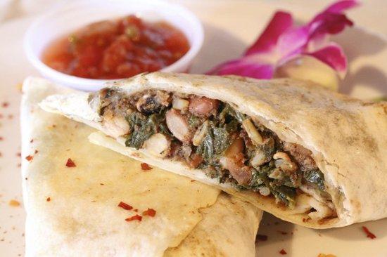 Beans & Cornbread: Harlem burrito