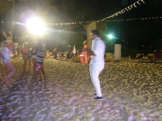 Ocean Blue & Sand: Fiesta en la playa