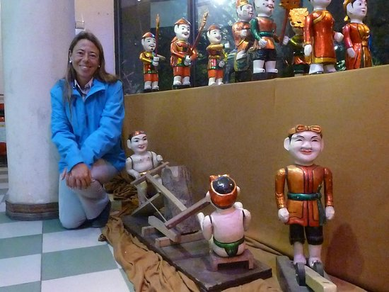 Thang Long Water Puppet Theater: marionetas