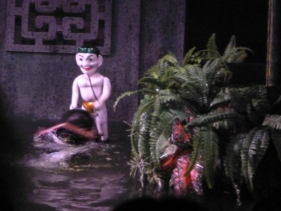 Thang Long Water Puppet Theater: campesino