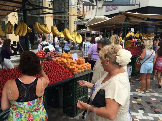 Buy fruit at Monastiraki Square