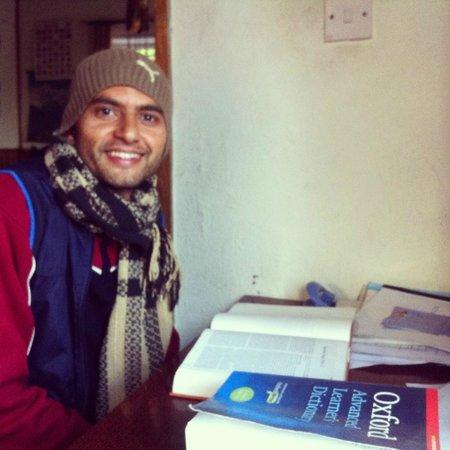 Himalayan Yoga Academy and Retreat: Gyaneshwar - resident yogi =)