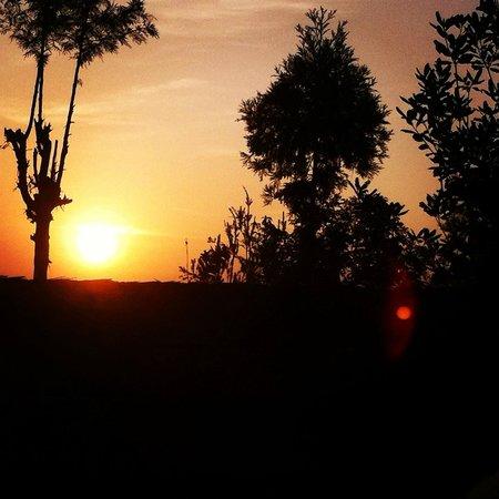 Himalayan Yoga Academy and Retreat: sunrise