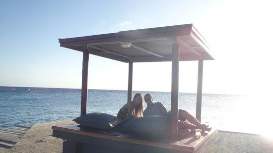 Zanzibar Lounge and Restaurant: Visual do Jantar- Chegamos antes das 6