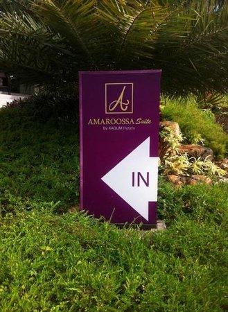 Amaroossa Suite Bali: the entrance