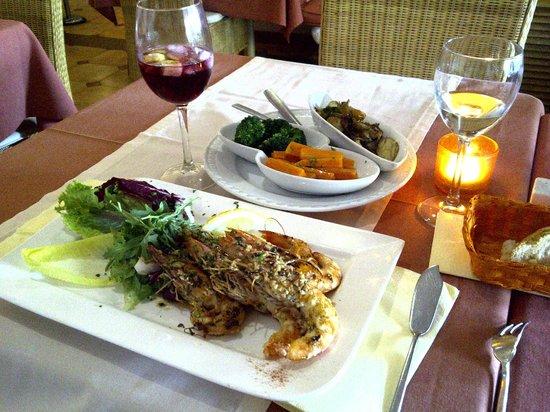 Carlos: Лангустины и овощи. Вкуснятина!
