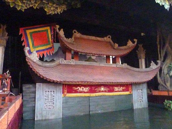 Thang Long Water Puppet Theater: escenario