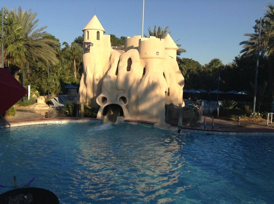 Disney's Old Key West Resort : main pool with slide