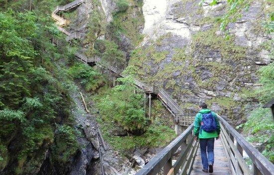 Kitzlochklamm: über 400 Stufen!
