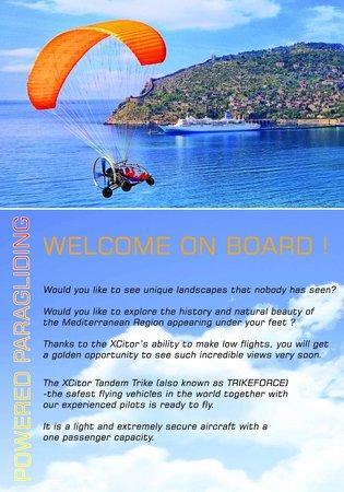 TRIKEFORCE - Powered Paragliding: FLY TOUR KATALOG 2