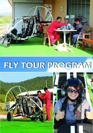 TRIKEFORCE - Powered Paragliding: FLY TOUR KATALOG 4