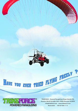 TRIKEFORCE - Powered Paragliding: FLY TOUR KATALOG 8