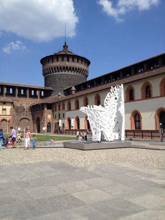 Castello Sforzesco: Tower