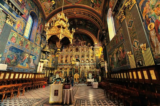 Oradea, Romania: Moon Church - Interior