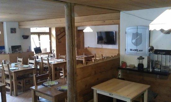 Chalet le 1200 : restaurant