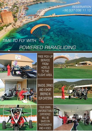 TRIKEFORCE - Powered Paragliding: INFO FLYER