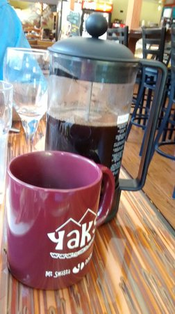 YAKS on the 5: French Press Coffee for one
