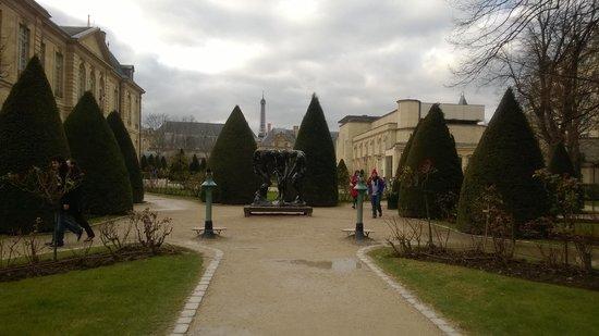 Musée Rodin : сад