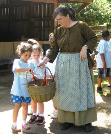 Huntsville, AL: Field trips are old fashioned fun at Burritt on the Mountain.